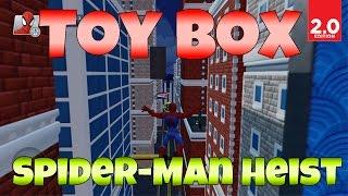 Disney Infinity 2.0: Toy Box - Spider-Man Heist (Marvel Super Heroes Gameplay)