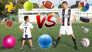 MULTI-BALL CHALLENGE VS CRISTIANO RONALDO JR