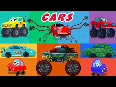 Cars Nursery Rhymes And Stories Compilation
