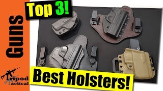 Top 3 M&P Shield Holsters - Appendix, IWB, or OWB Holster?