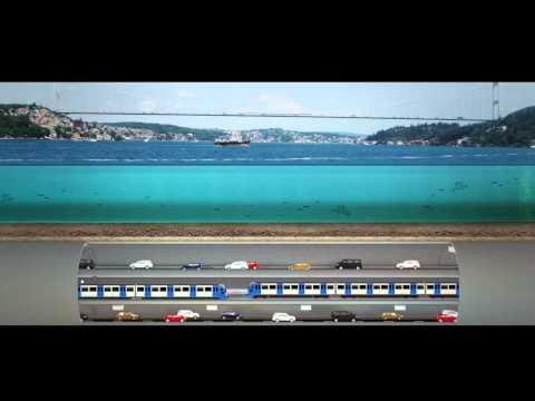 Üç Katlı Büyük İstanbul Tüneli