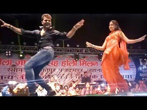Xxx Mp4 Full Video खेसारी और सपना के एक साथ स्टेज शो Khesari Lal Sapna Chaudhri Aankopur Stage Show 2018 3gp Sex