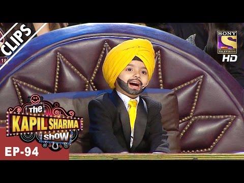 Samarth, the Chota Sidhu Guru! Thoko Taali. - The Kapil Sharma Show - 1st Apr, 2017
