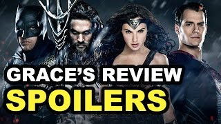 Batman v Superman SPOILERS Movie Review
