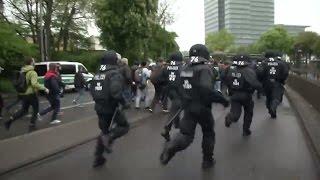 AfD-Parteitag in NRW: Lage in Köln bereits brenzlig