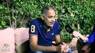 محمود البزاوي: محدش بيقدر يضحكني اد  أكرم ابني   | الراديو بيضحك مع فاطمة مصطفي