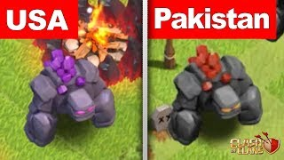 5 Troops In Clash of Clans That Are Different In Other Countries