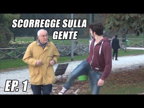 SCORREGGE SULLA GENTE AL PARCO FRANK MATANO