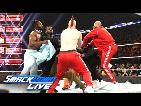 Xxx Mp4 The Usos Vs The Bar Rap Battle SmackDown LIVE Dec 11 2018 3gp Sex