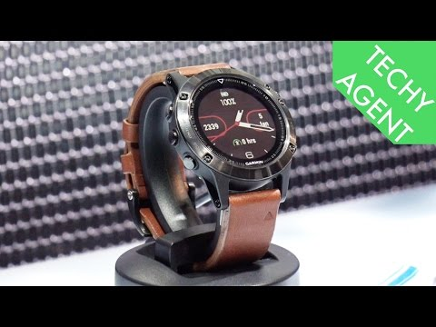 Hands On with Garmin Fenix 5 5S 5X at CES 2017