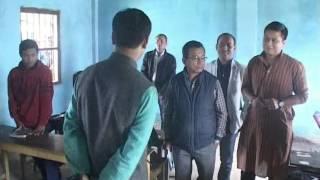 Education minister surprise visit (Rationalisation of Teacher in school )