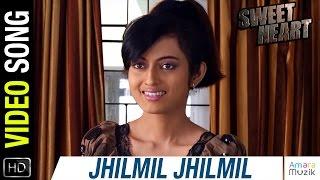 Jhilmil Jhilmil Full Video Song | Sweet Heart Odia movie| Official| Babushan , Anu Choudhary, Anubha