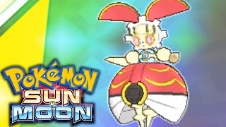 How To Get Magearna! QR Scan Mystery Gift Movie Event GAMEPLAY! - Pokemon Sun and Moon