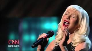 Christina Aguilera - Beautiful [Live] (CNN Heroes) High Definition