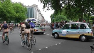 London Naked Bike Ride  -13th June 2015