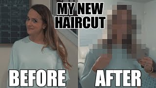 Aubrie's New Haircut - Friends and my reaction to my Wife's New Haircut