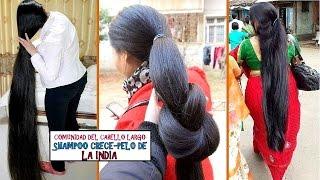 Cómo hacer crecer el cabello (secreto de la India) *y rápido  (Indian Hair Growth Secrets)