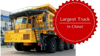 Biggest Chinese Mining Truck: The Awesome WTW220E, Unbelievable and HUGE