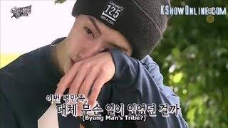 Heartbreaking Mark(GOT7) Shed tears in Law Of The Jungle