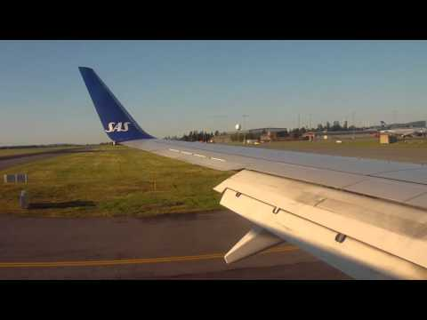 HD Scenic Approach & Landing Oslo Gardermoen