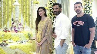 Bollywood Celebs Ganpati Celebrations 2018- John Abraham,Sunil Shetty,Anu Malik & Others