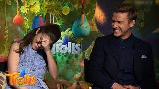 [P10] Anna Kendrick & Justin Timberlake   Trolls Interviews Compilation