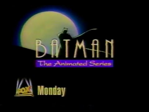 Batman the Animated Series Fox Kids Preview promo collection 1992-1993