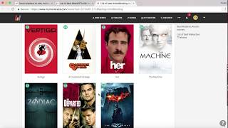 Import movie folder to discover movies by #feelings and watch trailer