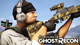 Ghost Recon Wildlands: Sniper Stealth Mission Gameplay
