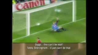Manchester United vs Bayern Munich 1999 ECL Final Last 3 Minutes