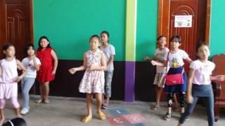 HULA HOOP-AIS Grade 2 dancing