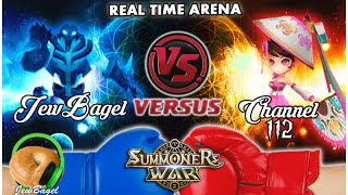 SUMMONERS WAR : JewBagel -VS- Channel 112 (Real-Time Arena)