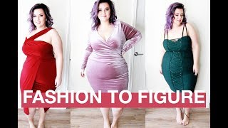 PLUS SIZE FASHION TRY ON HAUL | SEXY HOLIDAY LOOKS FROM FASHION TO FIGURE | sometimes glam