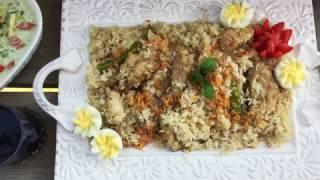চিকেন আখনি পোলাউ || Chicken Akhni Polau Bangla || Chicken Polau || Polau