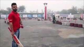 Virat Kohli Tips How To Hit For Six    Virat Kohli Batting Style