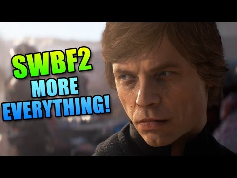 Battlefront 2 Full Trailer Game Will Have More Everything