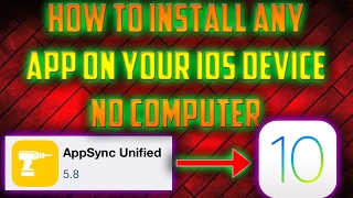 HOW TO GET APPSYNC ALTERNATIVE ON iOS 10.2 iPHONES iPADS! INSTALL ANY APP FOR FREE NO COMPUTER