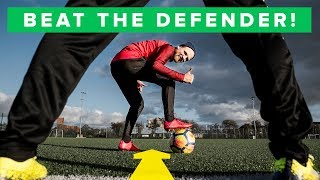 Learn the most effective dribbles | 5 simple football skills