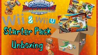 Skylanders: Superchargers: Wii U & Wii Starter Packs Unboxing