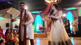 Mehndi Dance for Ahson and Hina on March 6, 2015