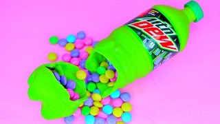 Chocolate Mountain Dew Bottle SURPRISE - Food Life Hacks