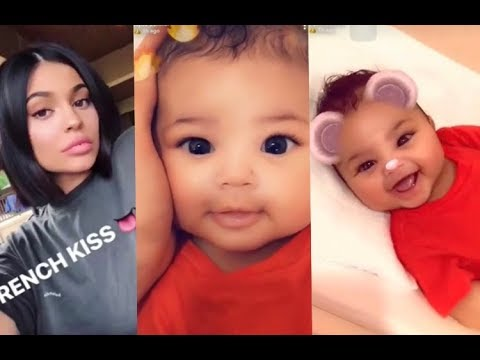 Kylie Jenner with STORMI Today On Snapchat (FULL SNAPCHAT VIDEOS)
