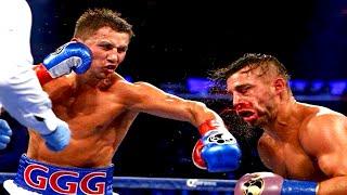 Gennady Golovkin vs David Lemiuex - Highlights (GGG Bloodies Lemiuex)