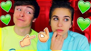 WHAT GUYS REALLY THINK ON A FIRST DATE! // JACK AND GAB