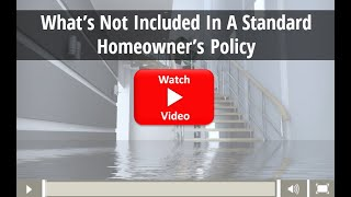 MIAFS - What's Not Included In A Standard Homeowner's Policy - Utica, MI