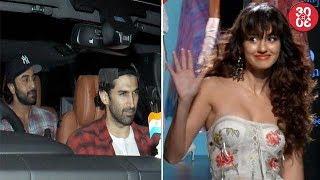 Arjun, Ranbir, Karan Attend 'Bareilly Ki Barfi' Screening   Disha Avoids Interacting With Media?