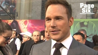 Chris Pratt jokes that acting in