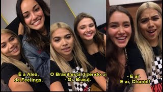 Hayley Kiyoko Q&A with Stefanie Scott, Chanel Celaya and more!