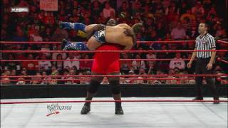 MVP & Mark Henry vs. Unified Tag Champions The Miz & Big