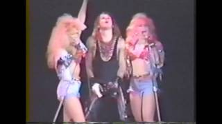 Mötley Crüe Live in Tacoma - Wild Side (10/15/1987) HD